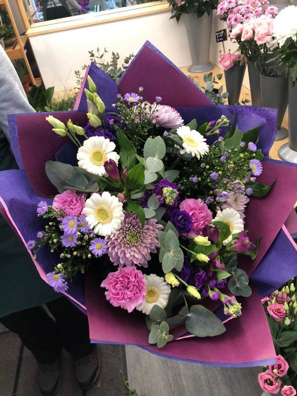 Regular Purple Bouquet