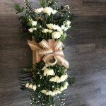 Coffin Spray made without the oasis allowing you to separate the flowers to make bouquets