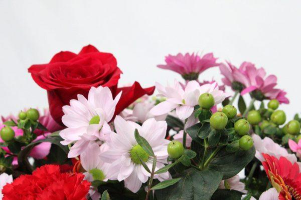 Flower Bag Bouquet Flowers
