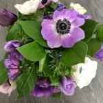 Anemone Bridal Bouquet from Posies of Clevedon